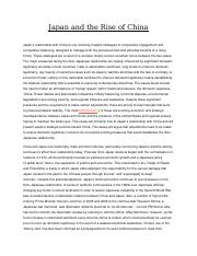 Japan and the Rise of China (2).docx
