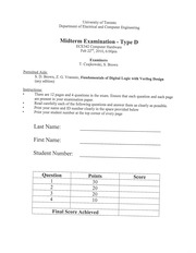 ECE 342 Spring 2010 Midterm Solutions