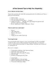 Easy thesis generator