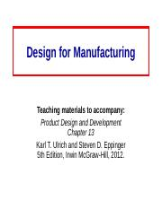 Design_for_ManufacturingCh13.ppt