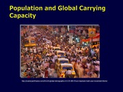 Lecture 04 Carrying capacity 2014 Handout