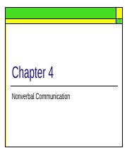 nonverbal communication(1).ppt