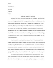 Personal Narrative Final