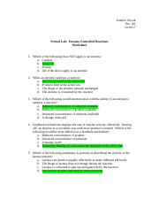 Enzyme Controlled Reactions Worksheet.doc