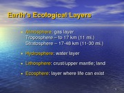 3 - Ecology - Fors