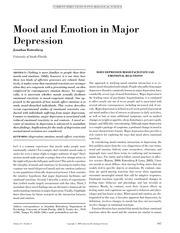 Mood and emotion journal