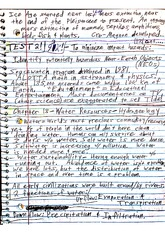 Geo 103 Class Notes- Water Resources:Hydrogeology