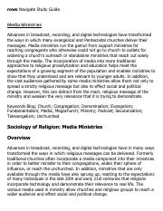 Media Ministries Research Paper Starter - eNotes.pdf
