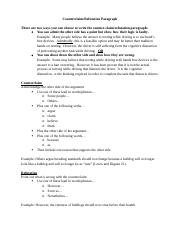 Counterclaim Notes and Sample.docx