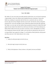 Tutorial 12 Violation of ethical  legal principles.doc