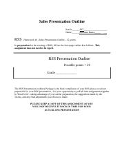 RSS #10 Template Sales Presentation Outline.docx