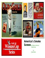 America's Smoke Screen Presentation