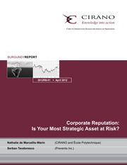 Reputation - Your Most Valuable Asset could be at risk