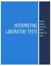 PHAR 511 - Day 1 - A - Interp Labs