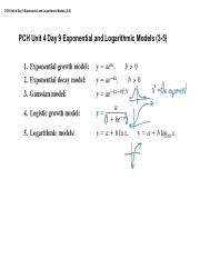 PCH Unit 4 Day 9 Exponential and Logarithmic Models.pdf
