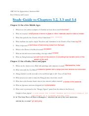 Part 3 CH 3.2 3.3 3.4 Study Guide.pdf