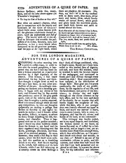 Adventures of a Quire of Paper, London_Magazine, 1779