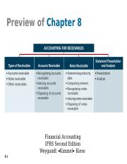 ch.8 Accounting for Receivables