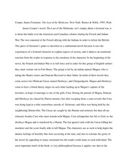 stephen crane the red badge of courage essay ibs summary crane  2 pages the last of the mohicans book report