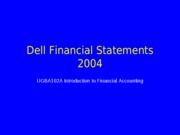 UCB+UGBA102A+Dell+Financials+Jan+2005-1