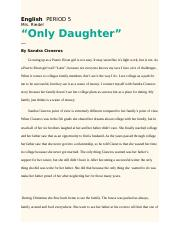 Only Daughter