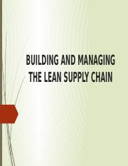 building and managing the supply chain.pptx