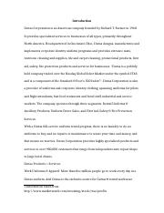 Final Project docx - Introduction Cintas Corporation is an American