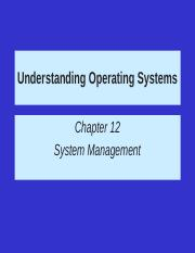 CH12 System Management.ppt