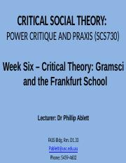 frankfurt school critical theory pdf