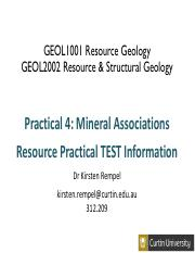 Practical 4_lab intro and test info