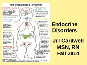8.) Endocrine Disorders remake