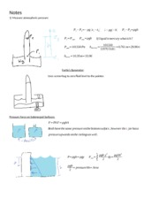 [9] Measurement of Pressure + Forces on Submerged Surfaces + Center of Pressure