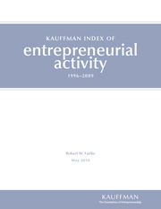 Kauffman Index of E Activity_2010_report