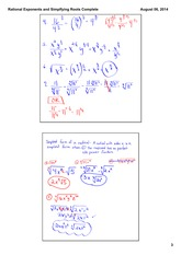 Rational Exponents and Roots Part 2