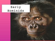APY107 - Early Hominids