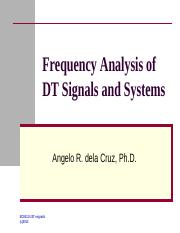 Lecture 5 - Frequency Analysis of DT Signals and Systems.pdf