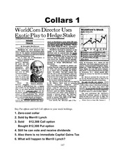 Option Strategy Collar