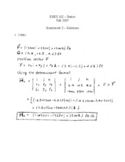 Solutions - Problem Set 3 (Fall 2007)