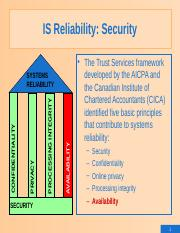 8a.IS Reliability (Security)