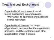 Organizational Environment theories.ppt