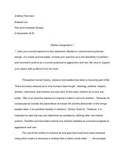 Written Assignment 1 : Andrew Francisco.pdf