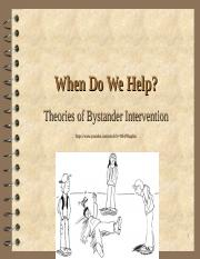 30bystander intervention.ppt