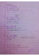 Derivatives Exercise