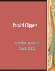 parallel clippers.ppt