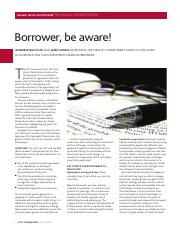 [ACT] Borrower, Beware.pdf