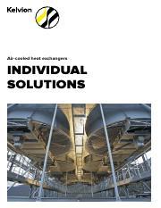 Kelvion-Air_Fin_Cooler_EN pdf - Air-cooled heat exchangers