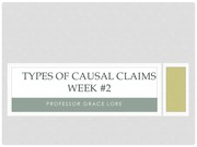 Week 5- Causal Claims Week 2.1