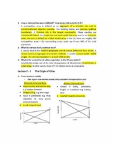 Statistical economy notes
