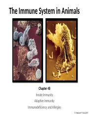 Lecture 17 - Animal Immune System - Short Version EC.pptx