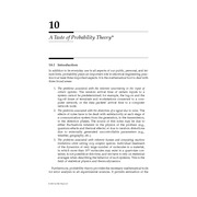 Chapter 10. A Taste of Probability Theory